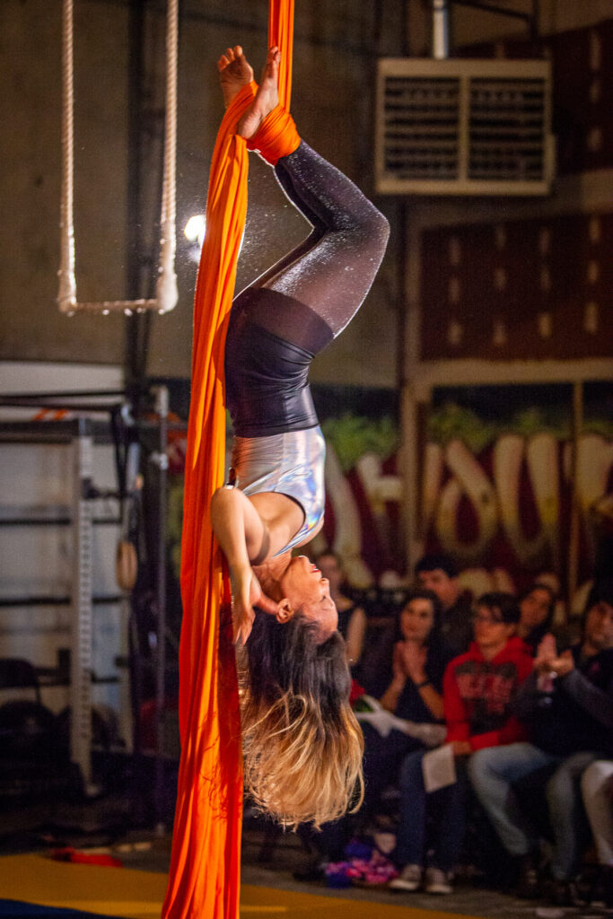 """""""The Greatest Show on Earth"""" student showcase at High Expectations Aerial Arts.  Photo ©2018 Mark Adams, All Rights Reserved"""